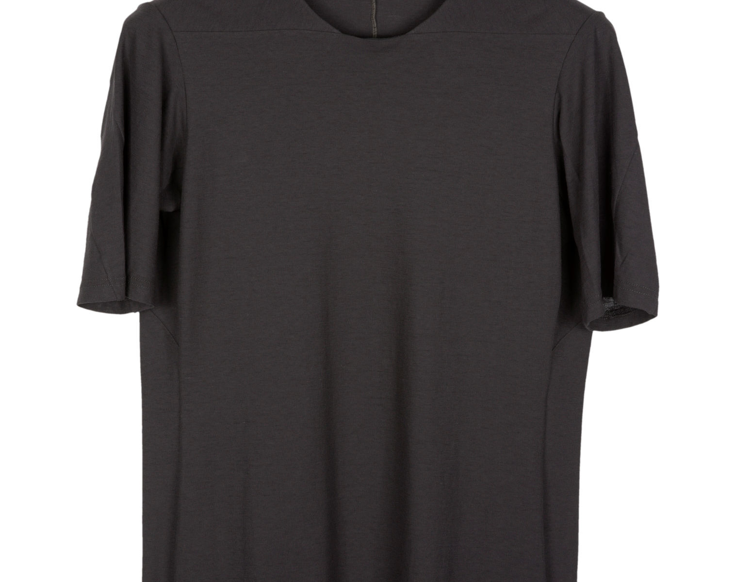 DEVOA Double Layer T-Shirt charcoal 1