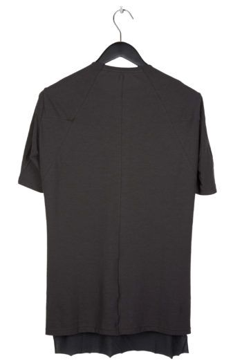 DEVOA Double Layer T-Shirt charcoal 3
