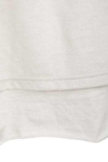 DEVOA Double Layer T-Shirt white grey 2