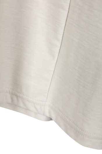DEVOA Long Shirt white grey 2