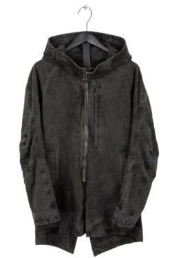 DEVOA Woven Hooded Cotton Coat 1