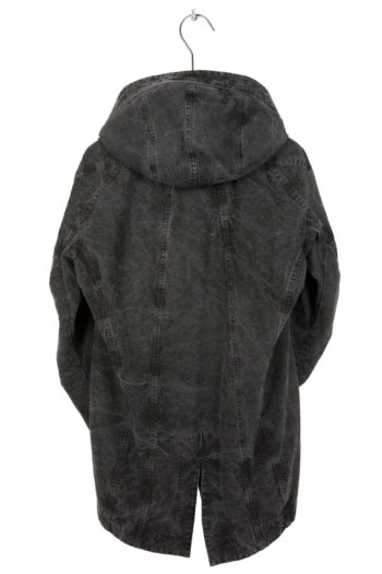 DEVOA Woven Hooded Cotton Coat 4