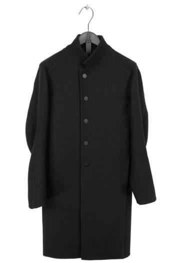 DEVOA Woven Wool Coat 1