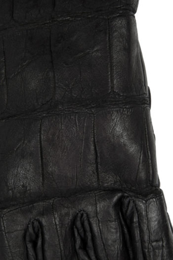 ISAAC SELLAM Crocodile Leather Gloves 2