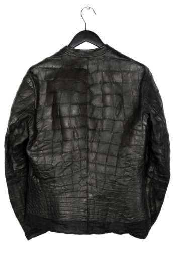 ISAAC SELLAM Crocodile Leather Jacket 5