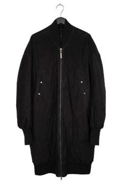 ISAAC SELLAM Oversized Leather Coat 1