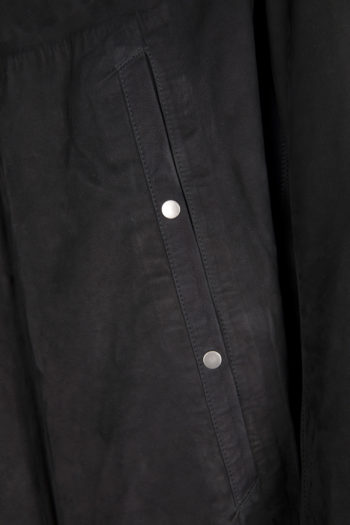 ISAAC SELLAM Oversized Leather Coat 3