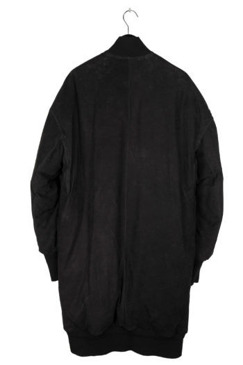 ISAAC SELLAM Oversized Leather Coat 5