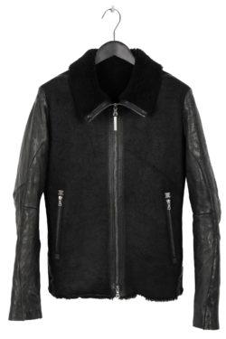 ISAAC SELLAM Shearling Leather Jacket 1