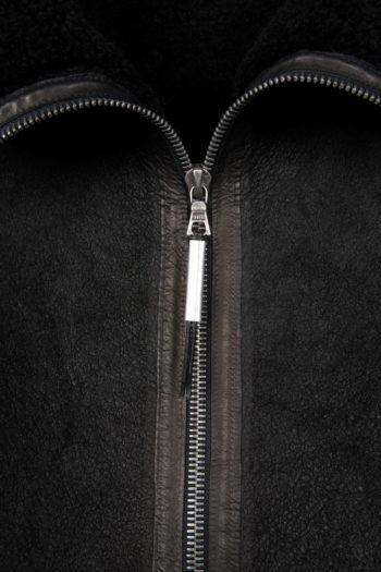 ISAAC SELLAM Shearling Leather Jacket 2