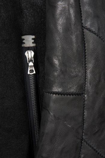 ISAAC SELLAM Shearling Leather Jacket 3