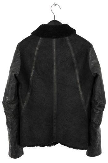 ISAAC SELLAM Shearling Leather Jacket 4