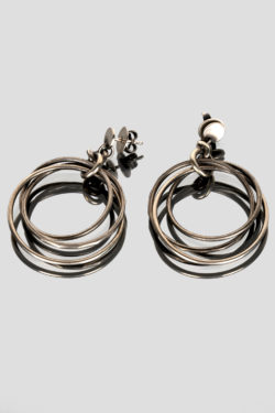 JULIA ZIMMERMANN earrings tightly knit