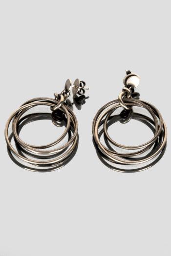 JULIA ZIMMERMANN earrings tightly knit