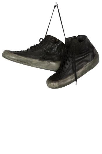 OXS RUBBER SOUL Sneaker black brownish green 1