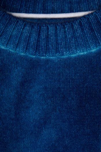 THE ELDER STATESMAN Intarsia Dyed Palm Tree Sweater 2