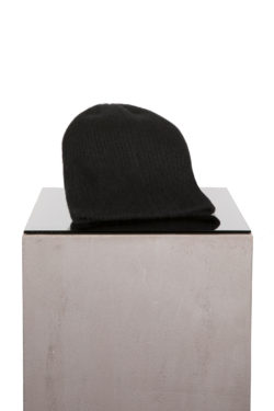 THE ELDER STATESMAN Watchman Cap black 1