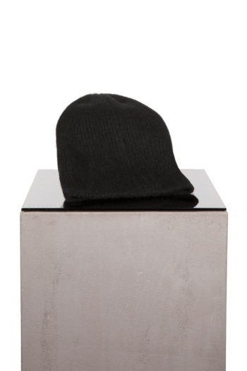 THE ELDER STATESMAN Watchman Cap black 1