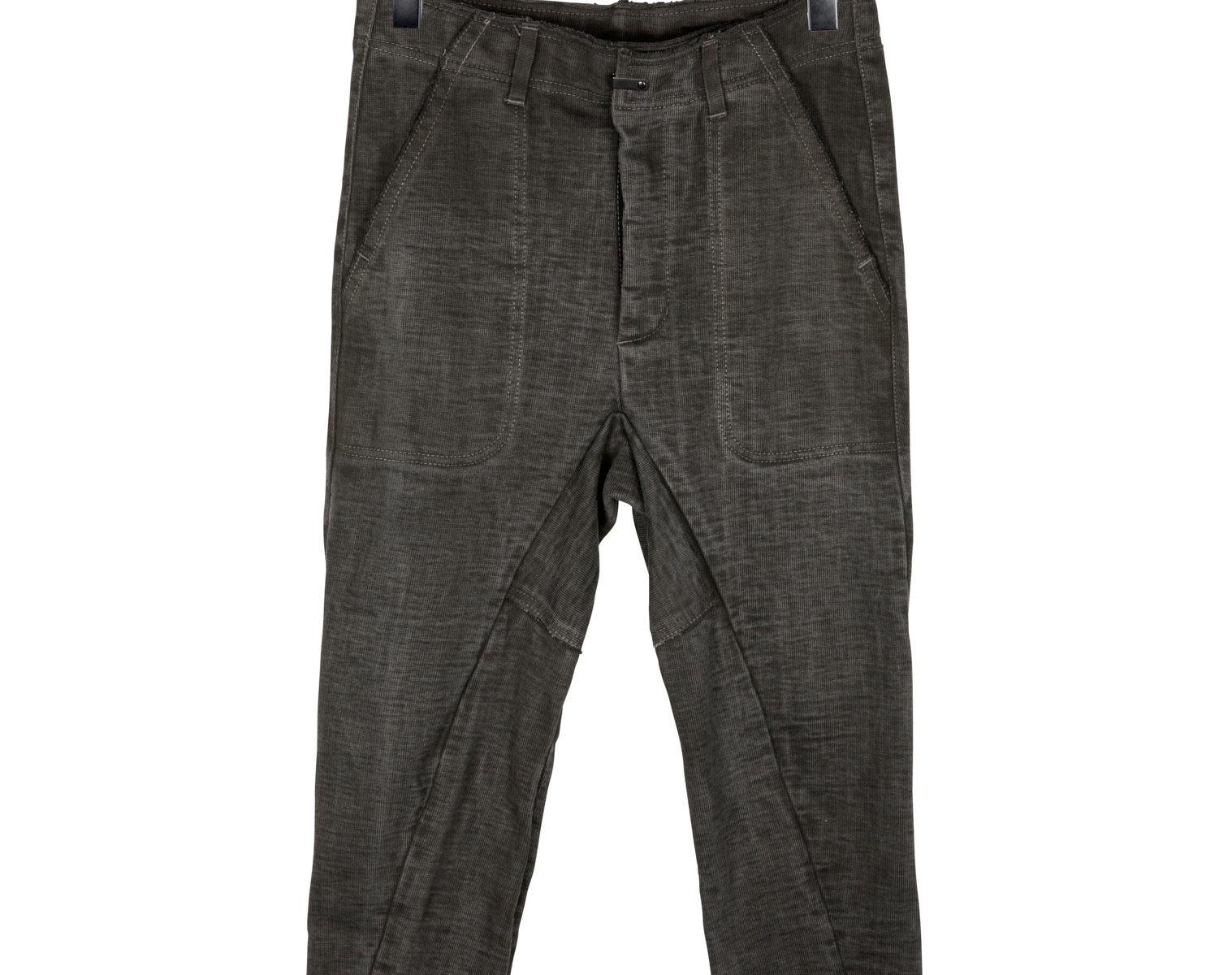 THE VIRIDI-ANNE Slim Cotton Pant 1