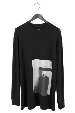 "SONG FOR THE MUTE ""Bag Head"" Print Sweater 1"