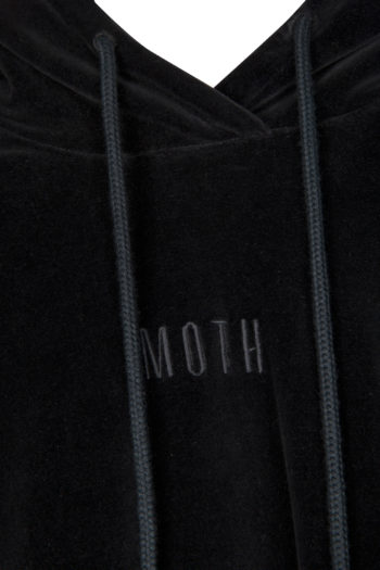 "SONG FOR THE MUTE ""Moth"" Raglan Hooded Sweater 2"