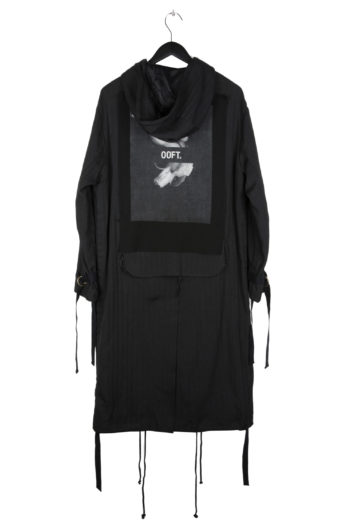 """SONG FOR THE MUTE """"Ooft"""" Print Long Parka 3"""