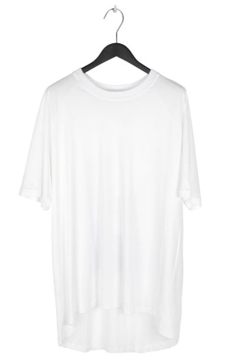 """SONG FOR THE MUTE """"Ooft"""" Print Raglan Oversized T-Shirt white 1"""