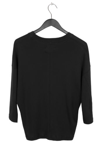 SONG FOR THE MUTE Cropped Relaxed Shirt black 3