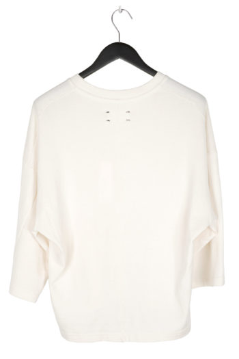 SONG FOR THE MUTE Cropped Relaxed Shirt ecru 3