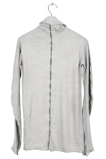 ISAAC SELLAM Turtleneck Long Shirt Taped 3