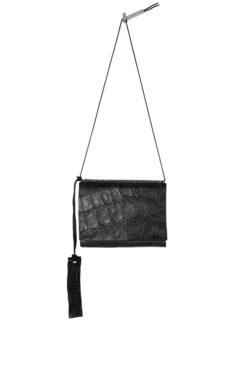 ISAAC SELLAM crocodile leather organizer wallet 1