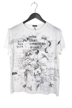 R13 Doodle Boy T-Shirt 1