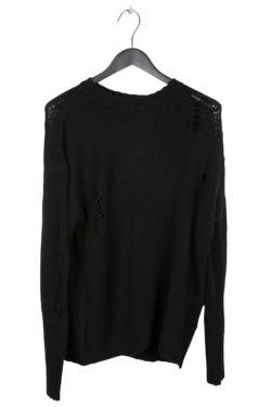 R13 Ripped Oversized Cashmere Sweater 1