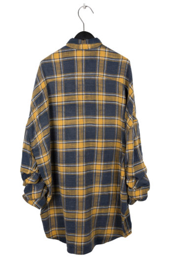 R13 Scrunched Sleeve Oversized Shirt 4