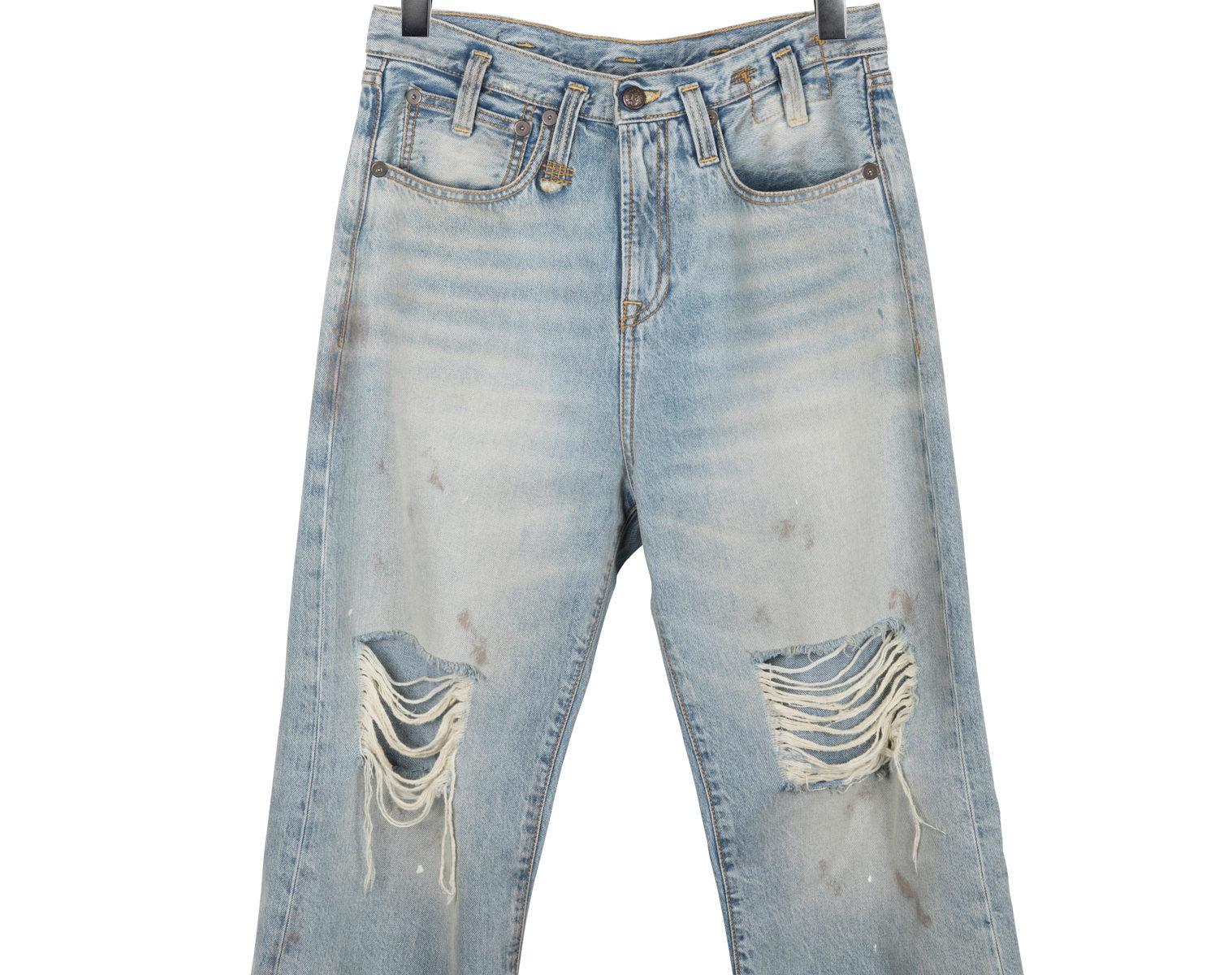 R13 Sina High Rise Jeans 1