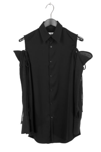 SONG FOR THE MUTE Long Shirt With Detached Sleeve 1