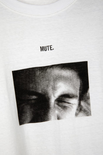 """SONG FOR THE MUTE """"Mute"""" Print Long Shirt 2"""