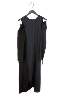 SONG FOR THE MUTE Twisted Dress With Detached Sleeve 1