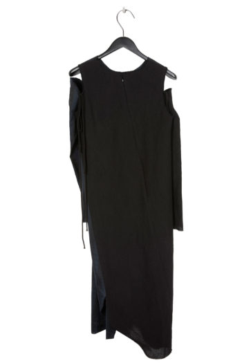 SONG FOR THE MUTE Twisted Dress With Detached Sleeve 4