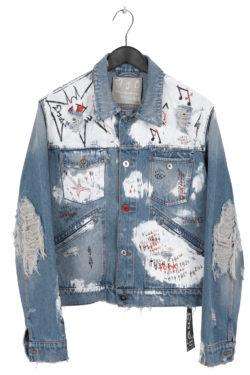 MJB Handpainted Pax Denim Jacket 27 - 1