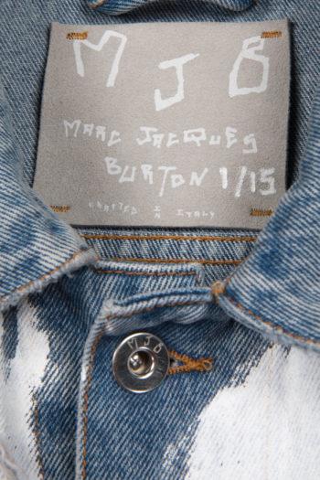 MJB Handpainted Pax Denim Jacket 27 - 2