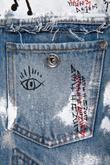 MJB Handpainted Pax Denim Jacket 27 - 3