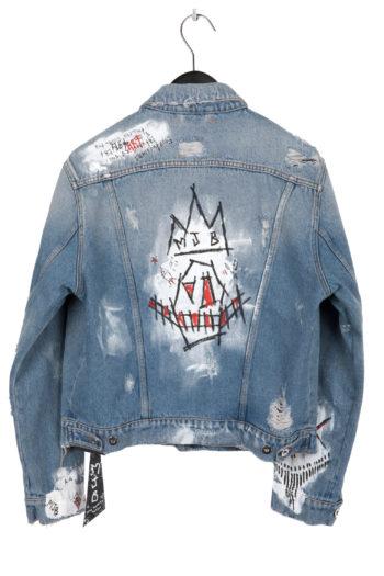 MJB Handpainted Pax Denim Jacket 27 - 5