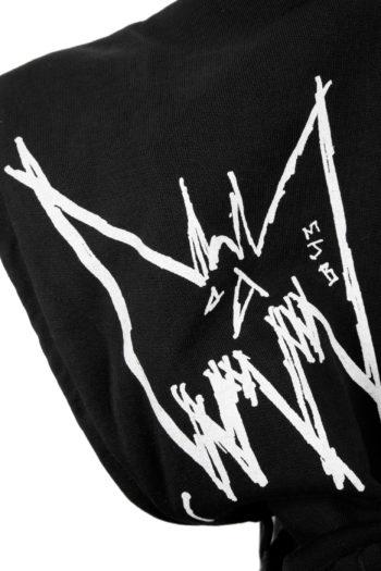 MJB Printed Unum Gemimus Hooded Sweater 4