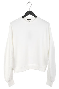 R13 Pleated Sleeve Sweater 1