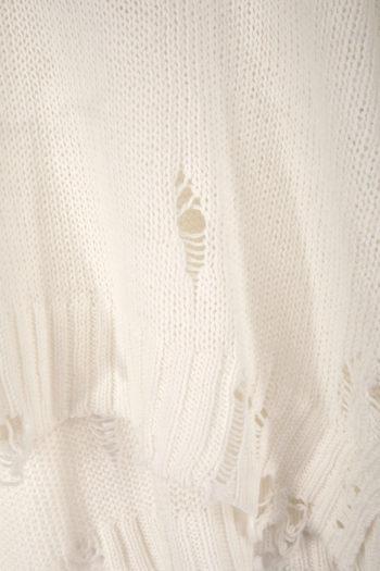 R13 Shredded Side Slit Sweater 2