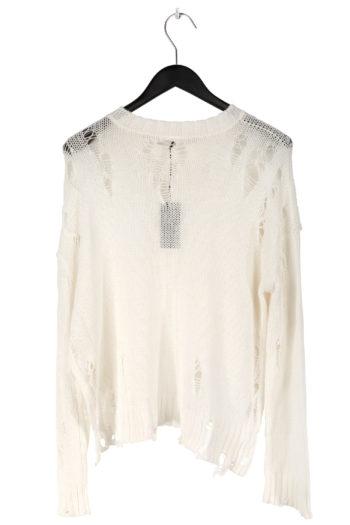 R13 Shredded Side Slit Sweater 3
