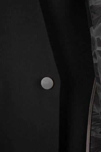 DEVOA 1-Button Blazer Jacket 2