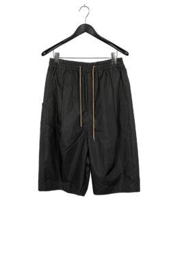 DEVOA Relaxed Short Pant charcoal 1