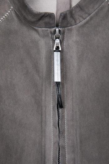 ISAAC SELLAM Leather Shirt Jacket 2